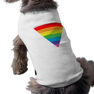 pink triangle. dog clothing