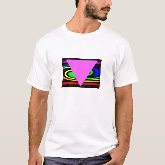 Pink Triangle for Gay and Lesbian Pride T-Shirt