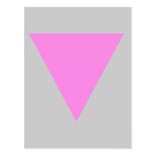 Pink Triangle Post Cards