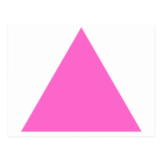 Pink Triangle Postcard