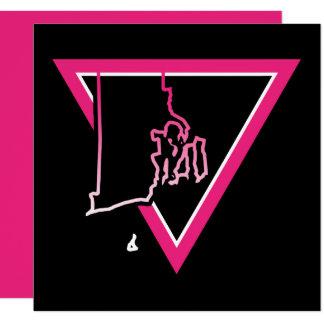 pink triangle rhode island card