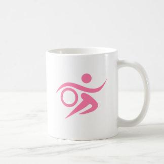 Pink Triathlete Coffee Mug