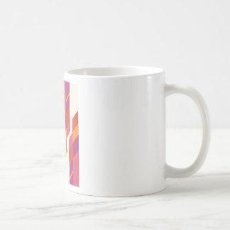 pink tribal coffee mug