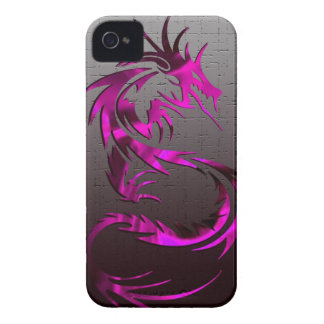 pink tribal dragon phone case iPhone 4 cover