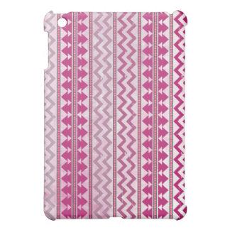 Pink Tribal Inspired iPad Mini Case