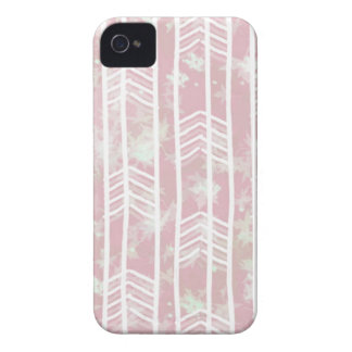 Pink Tribal Leaf Aztec Pattern iPhone 4 Cover