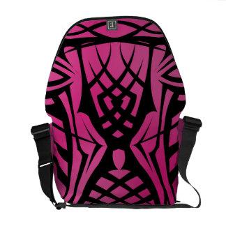 Pink Tribal Rickshaw Messenger Bag