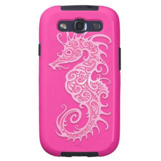 Pink Tribal Seahorse Samsung Galaxy S3 Case