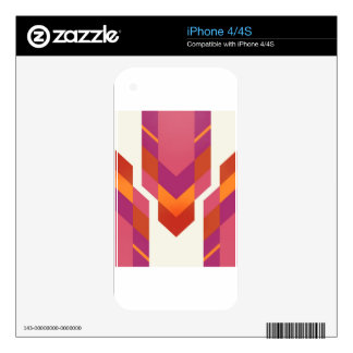 pink tribal skins for the iPhone 4