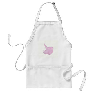 Pink Triceratops Head Adult Apron