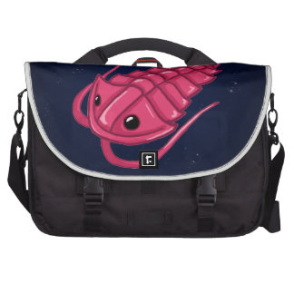 Pink Trilobite Laptop Commuter Bag