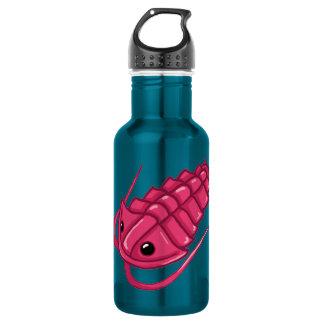 Pink Trilobite Water Bottle