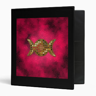 Pink Triple Goddess Book of Shadows Binder