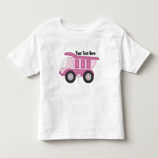 Pink Truck (Personalized) Toddler T-shirt