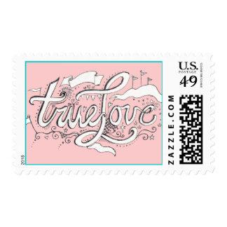 Pink True Love Postage