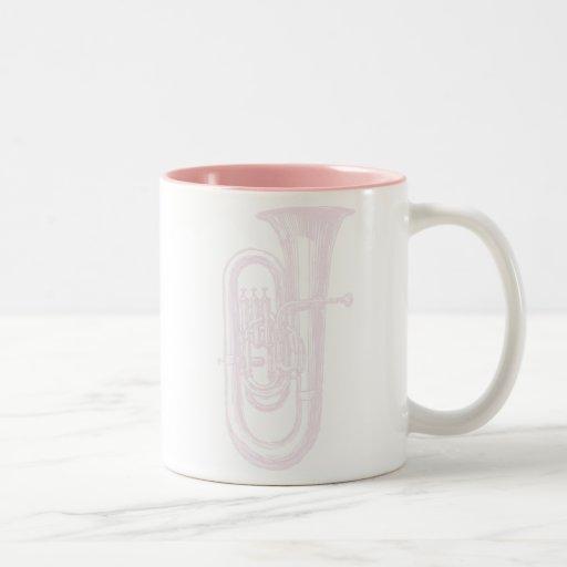 Pink Tuba Mugs