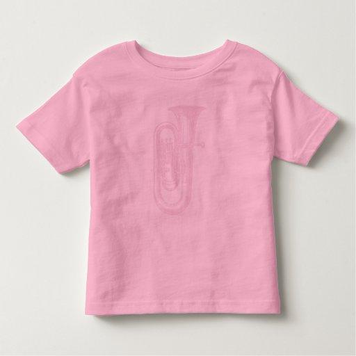 Pink Tuba Toddler T-shirt