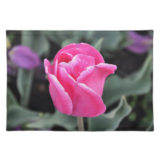 Pink Tulip American MoJo Placemats