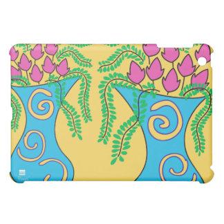 Pink Tulip Blue Vase iPad Speck Case iPad Mini Cases