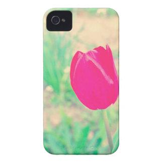 Pink tulip iPhone 4 Case-Mate case