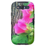 Pink Tulip Case Samsung Galaxy S3 Cover