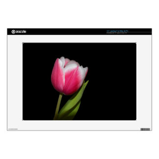 Pink Tulip Decals For Laptops