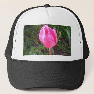 Pink Tulip Flower Staten Island NY CricketDiane Trucker Hat
