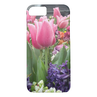 Pink Tulip Forest iPhone 7 Case