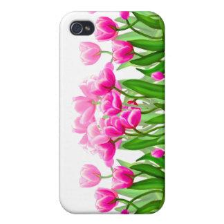 Pink Tulip Garden Customizable Speck Case