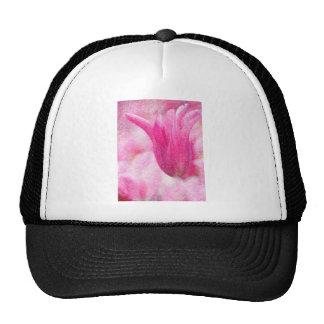 Pink Tulip Trucker Hat