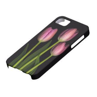 Pink Tulip iPhone Case iPhone 5 Cases