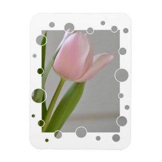 Pink Tulip Joy Magnet