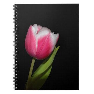 Pink Tulip Notebook