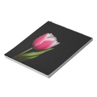 Pink Tulip Notepad