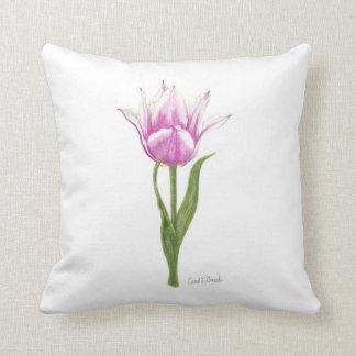 Pink Tulip Pillow