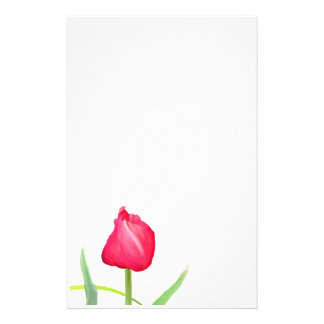 Pink Tulip Stationary Stationery