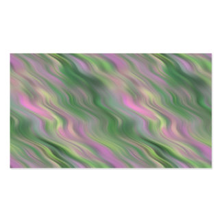 Pink Tulip Wavy Texture Business Card