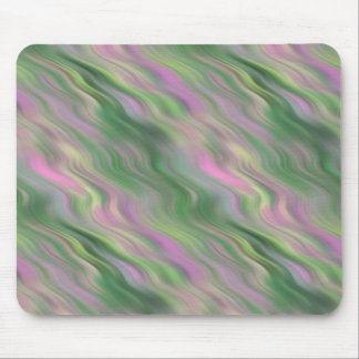 Pink Tulip Wavy Texture Mouse Pad