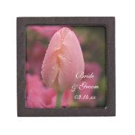 Pink Tulip Wedding Gift Box Premium Gift Box