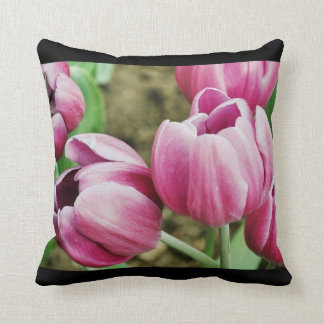 Pink Tulips American MoJo Pillow