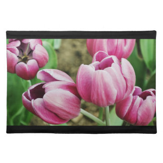 Pink Tulips American MoJo Placemat
