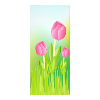 Pink Tulips Invitations
