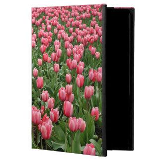 Pink Tulips iPad Air Case with No Kickstand