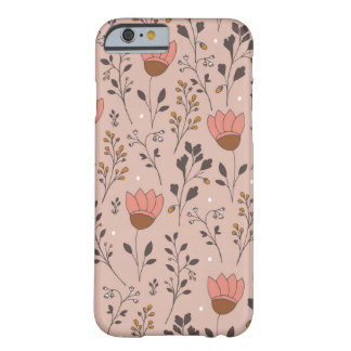 Pink Tulips iPhone 6/6s, Barely There Phone Case
