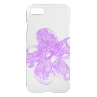 Pink tulle flower iPhone 7 case