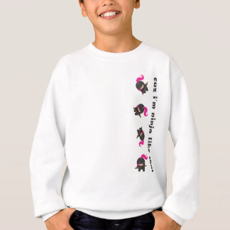 Pink Tumbling Ninja Sweatshirt