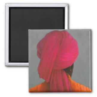 Pink Turban Magnet