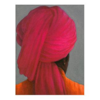 Pink Turban Postcard