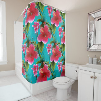 Bright Turquoise Shower Curtains | Zazzle