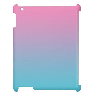 Pink & Turquoise Ombre Case For The iPad 2 3 4